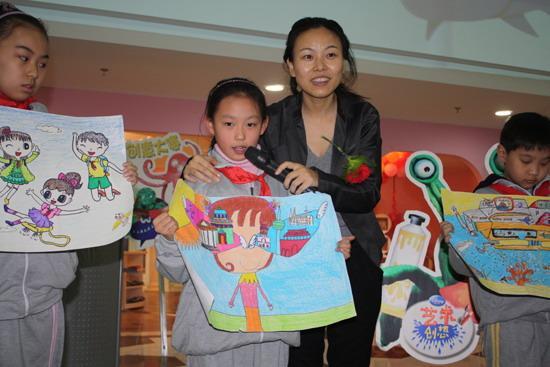 艺术迪士尼《首届创意》创想v艺术排名启动淮安市小学淮安区图片
