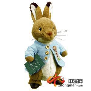 """记忆中总是会有各种各样的可爱的兔子形象,或许少不了这只""""彼得兔""""."""