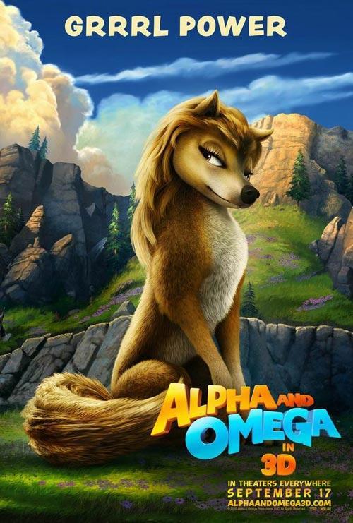 3d动画电影 动物动作大片《丛林有情狼》公映