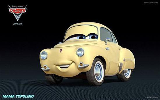可爱小车再现 《汽车总动员2》人物原型车盘点