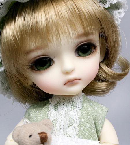 乖巧可爱的sd娃娃 让你爱不释手