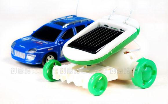 六合一太阳能动力玩具套装