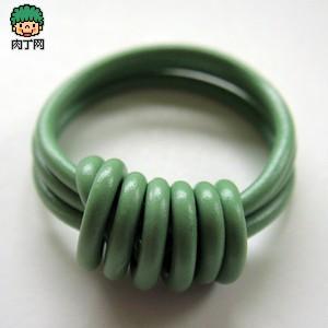 戴戒指的讲究_创意DIY电线首饰作品欣赏-指环、手链等- 少儿台