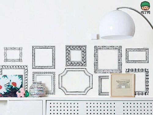 时尚家居创意手绘墙贴