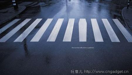创意人行道斑马线 动画片台 中国网络电视台 高清图片