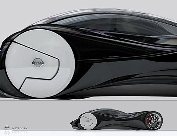 磁悬浮概念汽车