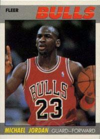 NBA赛季球星卡1987-88情趣飞人乔丹设为啥经典要酒店v赛季床图片