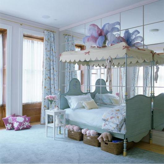 25个迷人的少女卧室设计- 少儿台