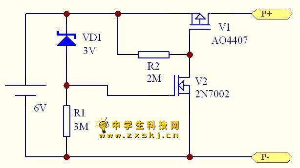 低功耗多节串联镍氢电池过放电保护电路-封存 日志页