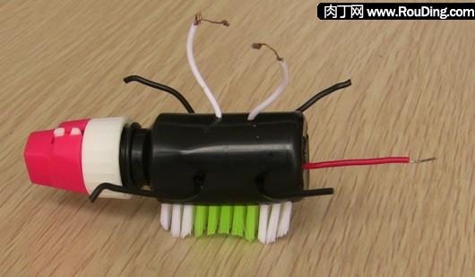 牙刷的创意电子玩具-儿童手工制作汽车-封存