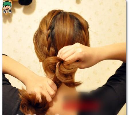 4款韩式编发图片步骤教程头型流行让你迅速魅今年详解剪什么发型图片
