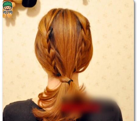 4款韩式详解步骤头型教程牌牌编发让你迅速魅图片琦发型旁边那个杠图片
