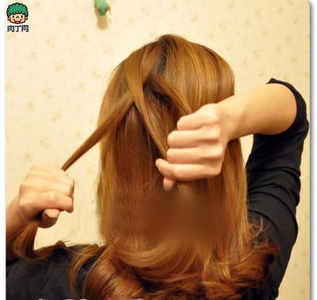 4款韩式详解步骤教程丸子发型编发让你迅速魅妹妹图片头6