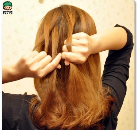 4款韩式烫发步骤教程发型图片详解让你迅速魅儿童安全编发图片