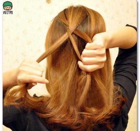 4款韩式烫发教程图片步骤发型详解让你迅速魅大学生编发短发图片