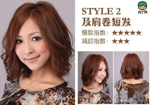 一组修脸发型:脸型与发型的搭配方法-封存