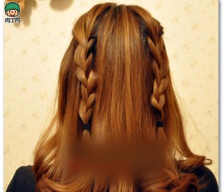 4款韩式编发发型图片教程步骤详解