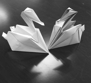 简单花信封折纸 步骤