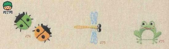 简单中国刺绣图案, 儿童毛衣刺绣图案-家里手工刺绣超可爱童话素材(附