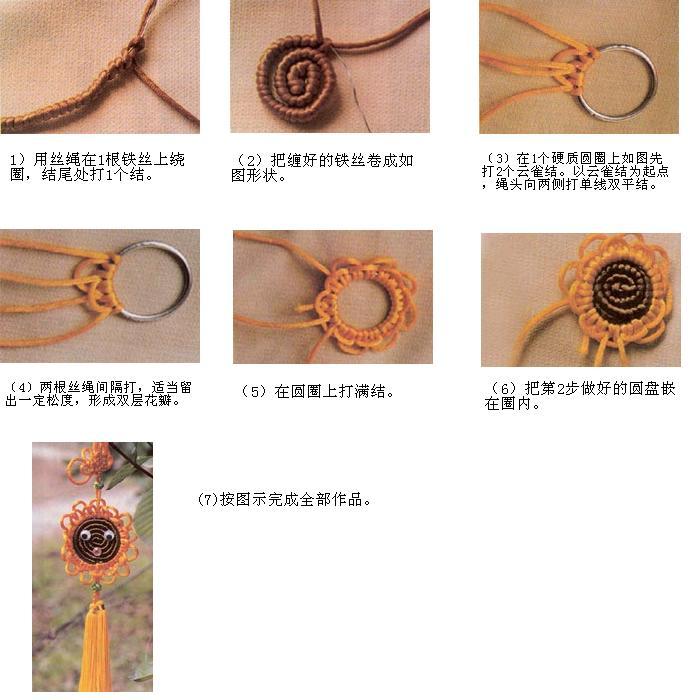 金鱼绳子编织步骤图