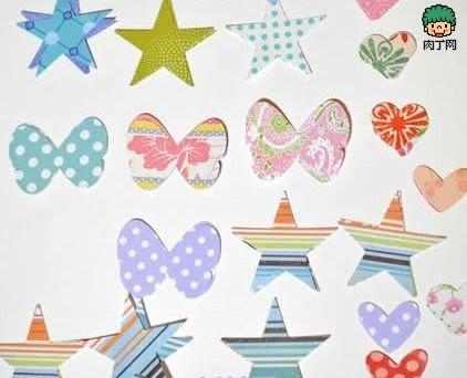 手工制作缝纫生日卡片diy图解