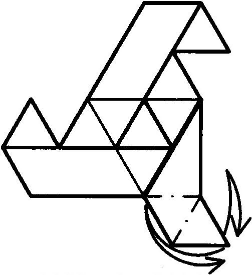 三角形设计动物图简笔画