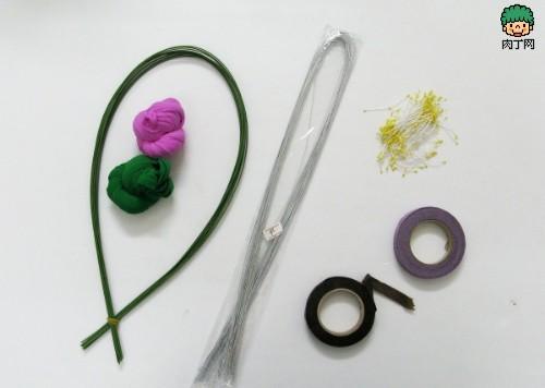 丝网花风信子的手工制作方法