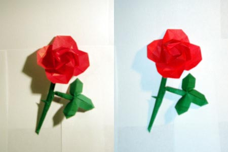 川崎玫瑰花折法 玫瑰花的手工制做图片
