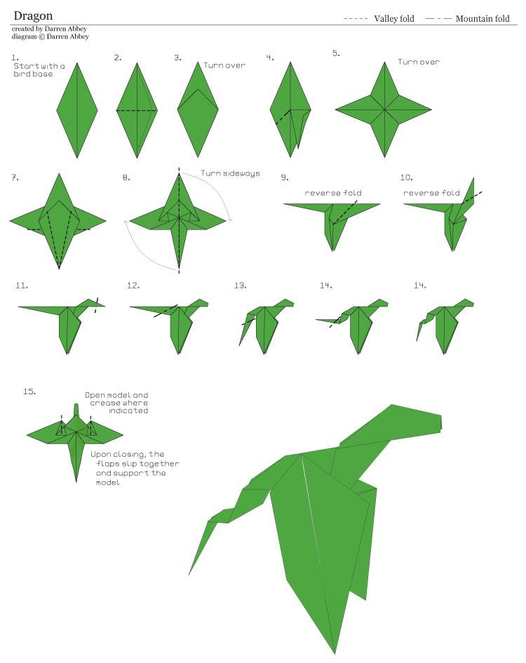爬行动物 恐龙 霸王龙 翼龙 折纸_爬行动物 恐龙 霸王龙 翼龙 折纸
