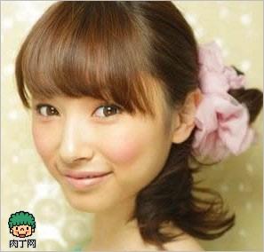 多款女解析刘海图片发型及短齐刘海碎发生长-短头发爱笑的明星图片