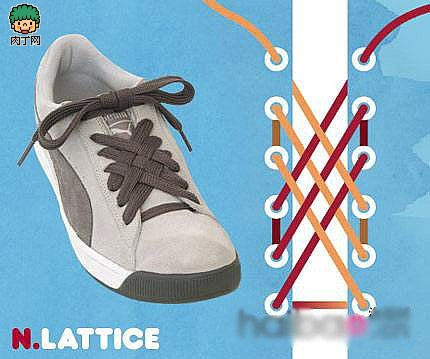 鞋帶的15種系法,你都會么?-封存 日志測試頁-中國網絡圖片