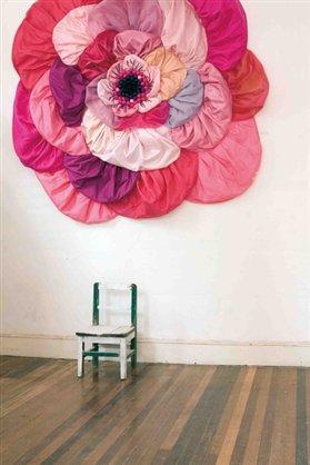 手工缎带花装饰DIY教程 缎带玫瑰花做法