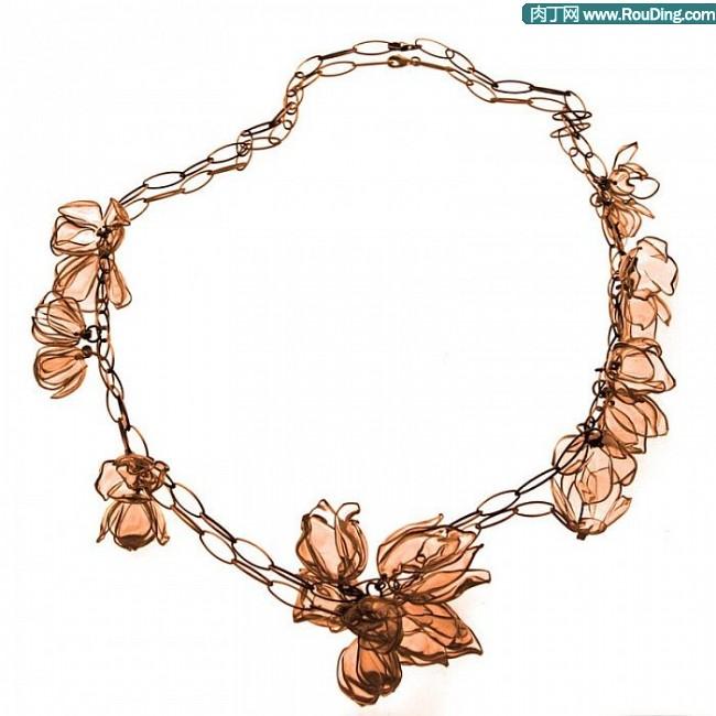 易拉罐手工制作的超级精致首饰之项链篇