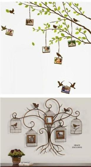 怎样设计照片墙 创意实用的客厅相片墙设计图片-封存