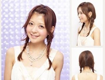 6款中长发扎头发 最吸引异性创意辫子发型做法