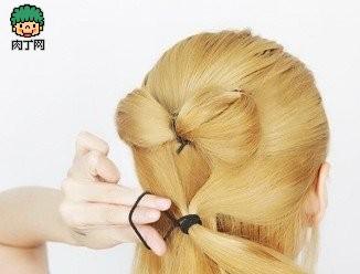 颜色希腊气质比较v颜色感十足蝴蝶结衣服-编发我的头发封存适合什么发型的盘发好看吗图片