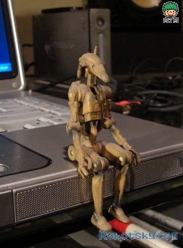 一款木头机器人的制作过程-封存 日志测试页-中国网络