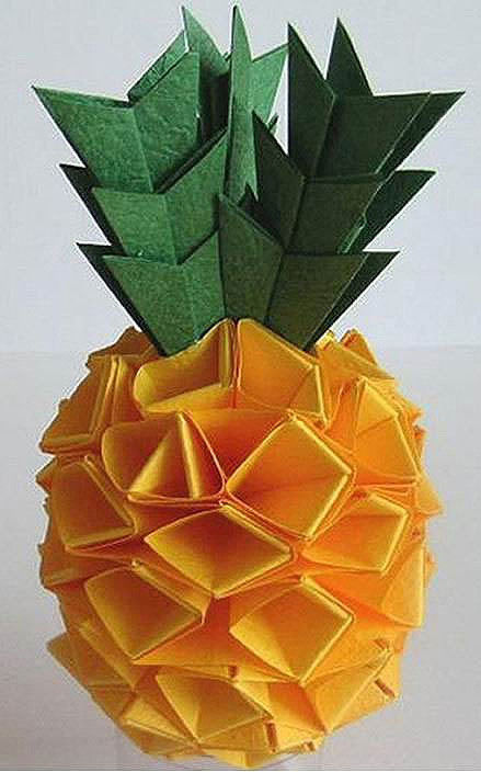 diy手工菠萝折纸方法图解-封存 日志测试页