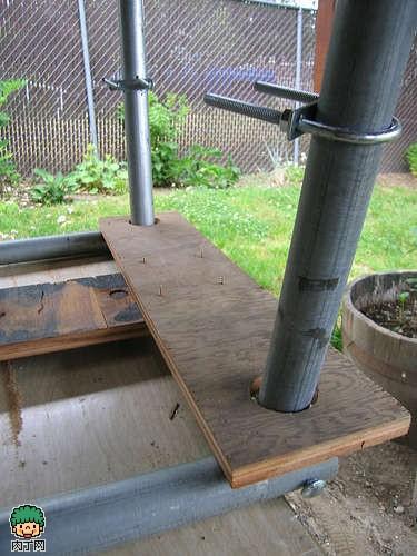diy油桶摇身改造新型烧烤架-封存