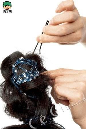 编发的欧美4款编辫发型让你视频封存-到底日时尚高马尾做法图片