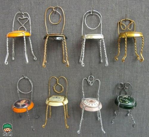 铁丝的艺术作品 铁丝手工制作图片-封存