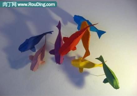 折纸蝴蝶结的做法图解-封存
