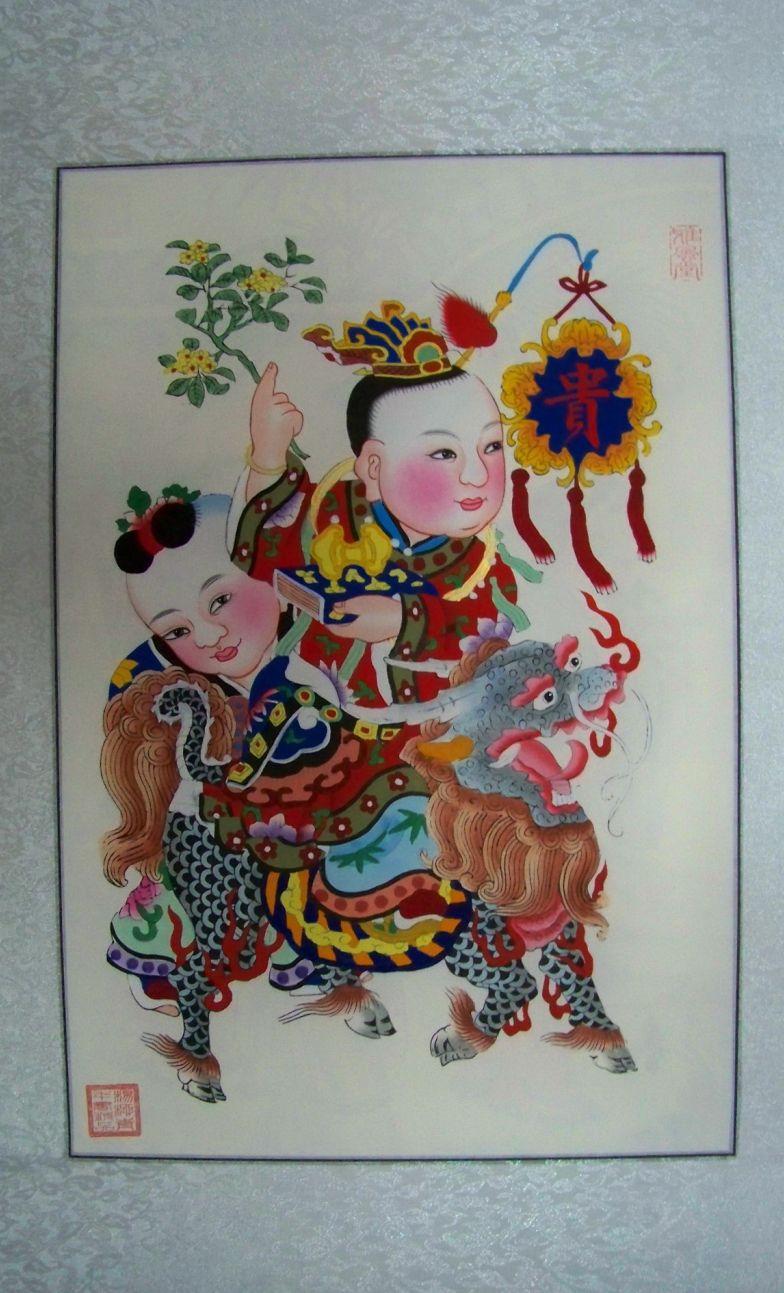 杨柳青春节年画新市场