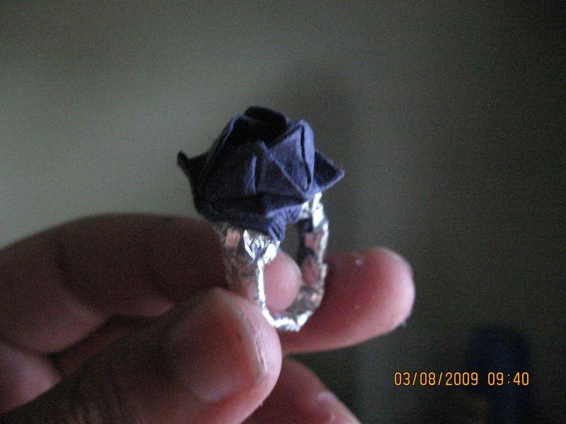 折纸玫瑰戒指的教程详细步骤图解-封存 日志测试页
