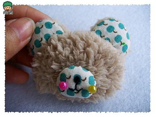 漂亮的手工制作小熊饰品diy步骤