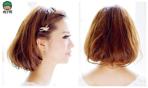 别让头发弄花妆容 漂亮简单的发型diy方法大推荐