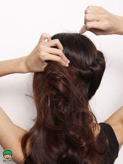 简单韩式盘发图解 成就大趴女王优雅派对发型-封存
