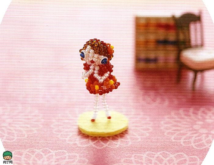 祈祷娃娃手工串珠摆件diy图解教程-封存