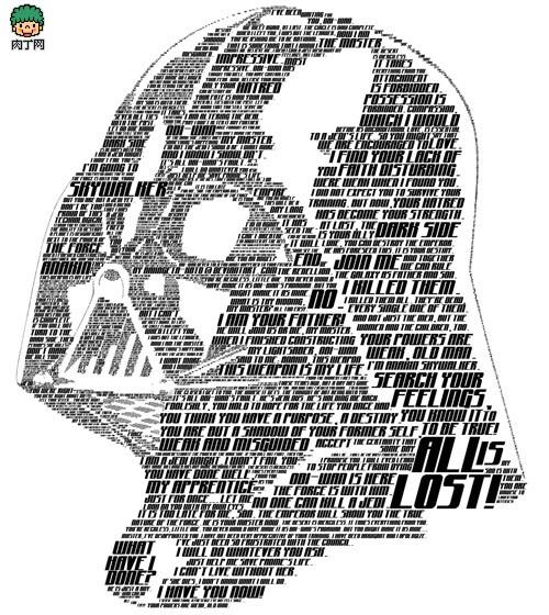 一组文字组成的图案平面设计创意艺术作品欣赏-封存