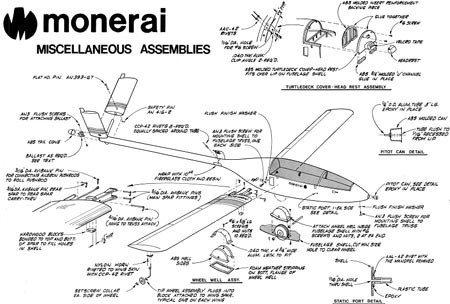 自制图纸照片(Hand-built.aircraft.drawings)可以下载标图纸飞机吗尺寸图片